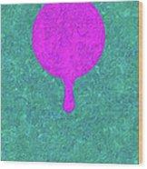 Tears Of Color-10 Wood Print