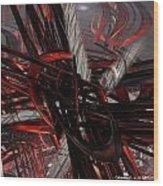 Technic Abstract Fx  Wood Print