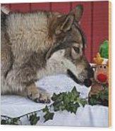 Tehya's Christmas Wood Print