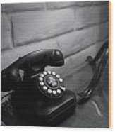 Telecommunications Wood Print