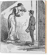 Telegram: Death, 1879 Wood Print