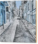 Telegraph Hill Blue Wood Print