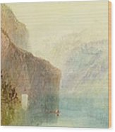 Tell's Chapel - Lake Lucerne Wood Print