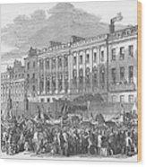 Temperance Rally, 1853 Wood Print