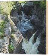 Temperance River 3 Wood Print