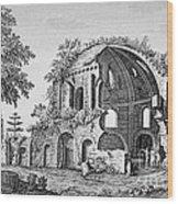 Tempio Di Minerva Medica In Roma, 18th Wood Print by Photo Researchers