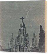 Temple Expiatory Wood Print