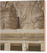 Temple Of Hatshepsut Wood Print