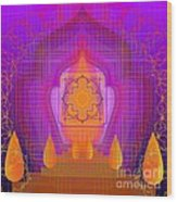 Temple Of The Inner Flame 2012 Wood Print