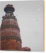 Temple Rishikesh India Wood Print