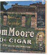 Ten Cent Cigar Wood Print
