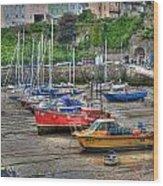 Tenby Harbour In Summer 3 Wood Print