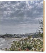 Tenby Pembrokeshire Wood Print
