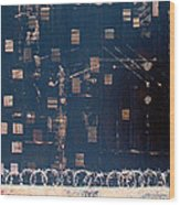 Tenement Wood Print