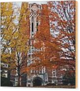 Tennessee Ayers Hall Wood Print
