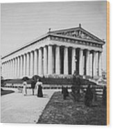 Tennessee Centennial In Nashville - The Parthenon - C 1897 Wood Print