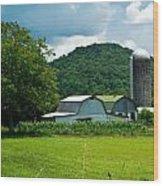 Tennessee Farm 1 Wood Print