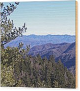 Tennessee Mountains Wood Print