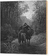 Tennyson: Guinevere Wood Print by Granger