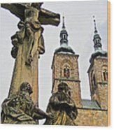 Tepla Monastery - Czech Republic Wood Print