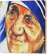 Teresa 5 Wood Print
