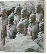Terracotta Army Xi'an Wood Print