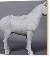 Terracotta Warrior's Horse Wood Print