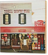 Terrell North Carolina Wood Print