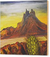 Tetakawi San Carlos Sonora Mexico Wood Print