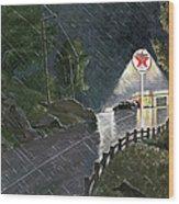 Texaco Advertisement, 1941 Wood Print