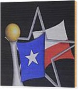 Texas Wood Print by Jose Benavides