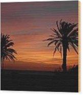 Texas Sunrise Wood Print