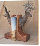 Texas Trophies Wood Print by J P Childress