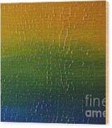 Textured Colors Wood Print