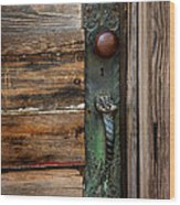 Textured Elegance Of The Past Wood Print