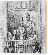Thackeray: Newcomes, 1855 Wood Print