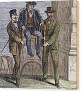 Thaddeus Stevens, 1868 Wood Print