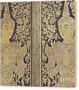 Thai Art Wood Print
