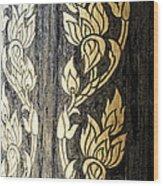 Thailand Pattern  Wood Print by Panupong Roopyai
