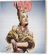 That Night In Rio, Carmen Miranda, 1941 Wood Print by Everett