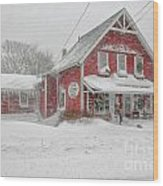 The 1856 Country Store On Main Street In Centerville On Cape Cod Wood Print