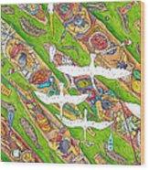 The 7 Deadlies Wood Print