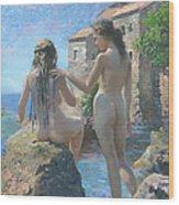 The Adriatic Sea Mmxi Wood Print