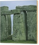 The Ancient Ruins Of Stonehenge Wood Print