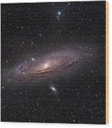 The Andromeda Galaxy Wood Print