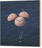 The Apollo 16 Command Module Wood Print