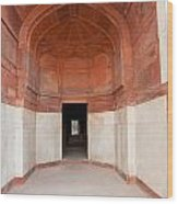 The Architecture And Doorways Of The Humayun Tomb In Delhi Wood Print