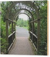 The Archway Wood Print