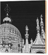 The Art Of Venice Wood Print