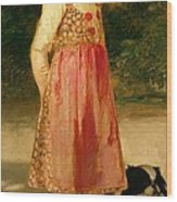 The Artist's Daughter - Hilde   Wood Print
